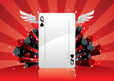 Poker Background vector illustration