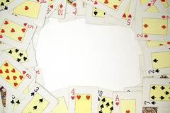 Poker background Stock Images