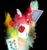 Poker background Royalty Free Stock Photo