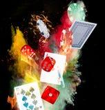 Poker background Royalty Free Stock Photos