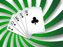 Poker background Royalty Free Stock Photo