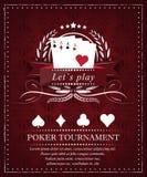 Poker  background Stock Photos