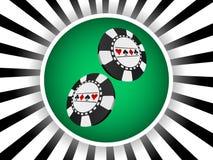 Poker banner Stock Images