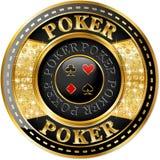 Poker banner Stock Photography