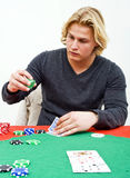 Poker bet Stock Image