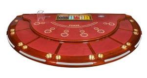 Poker bordlägger Fotografering för Bildbyråer