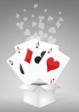 Poker box Stock Photography