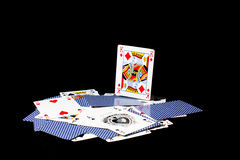 Poker card Royalty Free Stock Photography