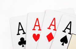 Poker card background Royalty Free Stock Photography