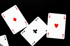 Poker card game Stock Images
