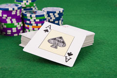 Poker card Stock Photo