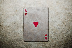 Poker card Royalty Free Stock Image