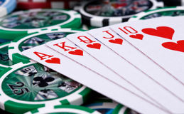 Free Poker Cards Stock Image - 14176741