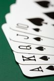 Poker cards Stock Photos