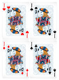 Poker cards Royalty Free Stock Image