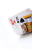 Poker cards, kings Stock Photography