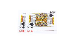 Poker cards Kings Royalty Free Stock Images