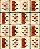 Poker cards seamless Stock Image