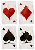 Poker cards set Royalty Free Stock Images