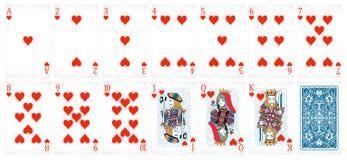 Poker cards Royalty Free Stock Photos