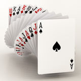 Poker cards Stock Photo