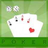 Poker casino Royalty Free Stock Images