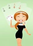 Poker casino Stock Image