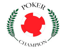 Poker Champion 5 Royalty Free Stock Photo