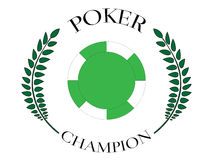 Poker Champion 7 Stock Image