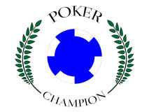 Poker Champion 6 Royalty Free Stock Photo