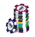 Poker Chip Royalty Free Stock Photo