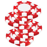Poker chip. For your casino Royalty Free Stock Photography