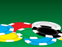 Poker chip Stock Images