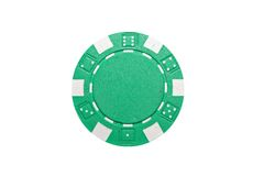 Poker chip Stock Image