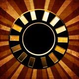 Poker chip stock illustration