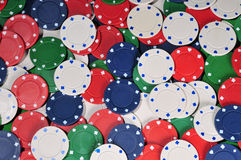 Poker chip abstract Stock Image