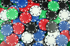 Poker Chip Background stock image