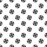 Poker chip nominal 10 pattern, simple style. Poker chip nominal 10 pattern. Simple illustration of poker chip nominal 10 pattern for web vector illustration