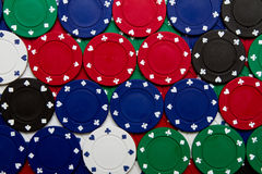 Free Poker Chips Stock Images - 20130524
