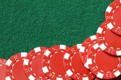 Poker chips stock image