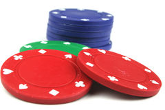 Free Poker Chips Stock Images - 2412274