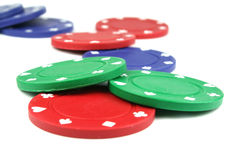 Free Poker Chips Stock Photos - 2412283