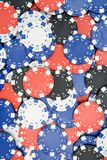 Poker Chips Background Stock Photos
