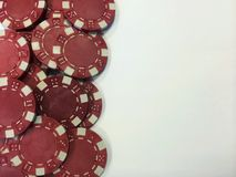 Poker Chips I Royalty Free Stock Photo