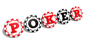 Poker Chips Sign Royalty Free Stock Images