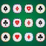 Poker chips 07 Stock Images