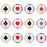 Poker chips 04 Stock Image