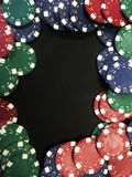 Poker Chips VII Royalty Free Stock Photos