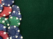 Poker Chips X Royalty Free Stock Image