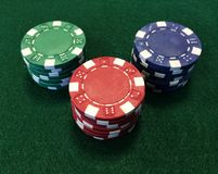 Poker Chips XIII Stock Photography